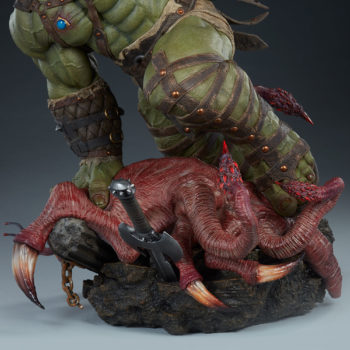 Gladiator Hulk Maquette Base Turnaround 1