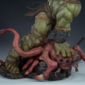 Gladiator Hulk Maquette Base Turnaround 3