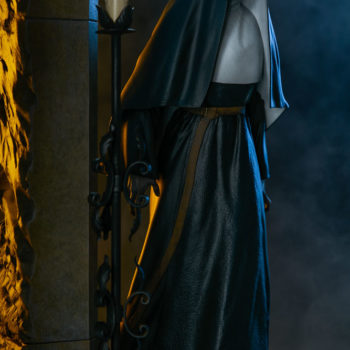 The Nun Statue from the Conjuring Universe- Valak Dramatic Shot 5