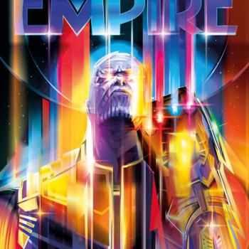 Thanos: Infinity War Empire Magazine Subscriber Exclusive Cover