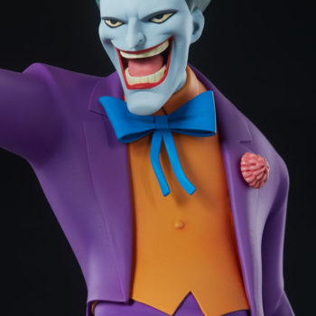 The Joker Statue- Animated Series Collection Portrait Close Up 1