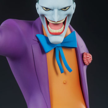 The Joker Statue- Animated Series Collection Portrait Close Up 2