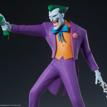 The Joker Statue- Animated Series Collection Figure from the Knees Up