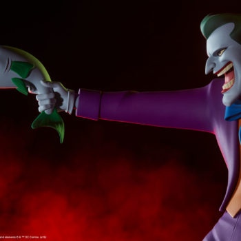 The Joker Statue- Animated Series Collection Dramatic Portrait Close Up 1
