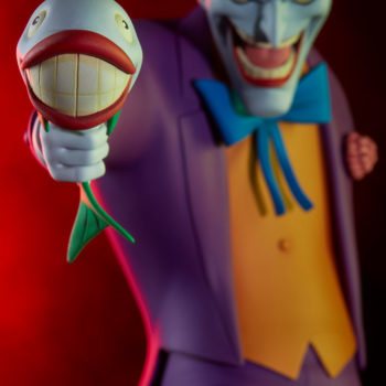The Joker Statue- Animated Series Collection Joker Fish Close Up 2