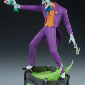 The Joker Statue- Animated Series Collection Turnaround 1