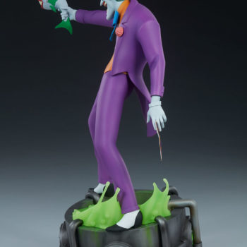 The Joker Statue- Animated Series Collection Turnaround 2