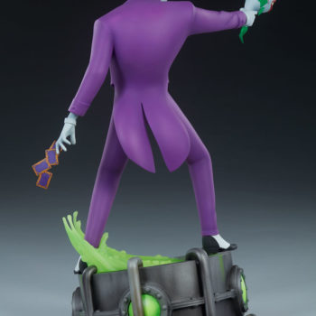 The Joker Statue- Animated Series Collection Turnaround 3