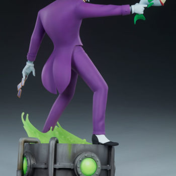 The Joker Statue- Animated Series Collection Turnaround 4