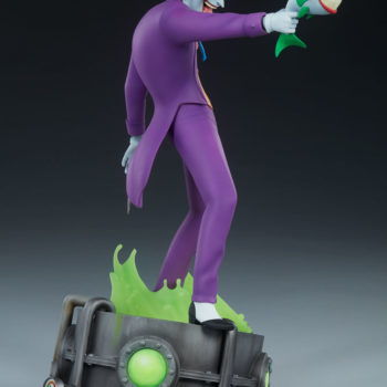The Joker Statue- Animated Series Collection Turnaround 5