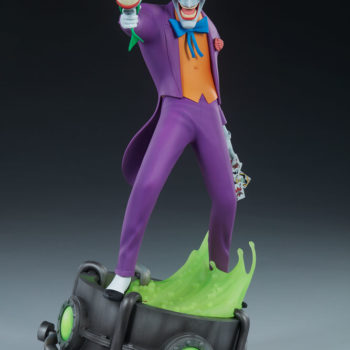The Joker Statue- Animated Series Collection Turnaround 6