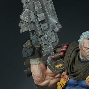 Cable Premium Format™ Figure Weapons Detail Shot
