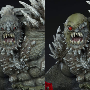Doomsday Maquette Exclusive Edition Hooded Portrait Comparison