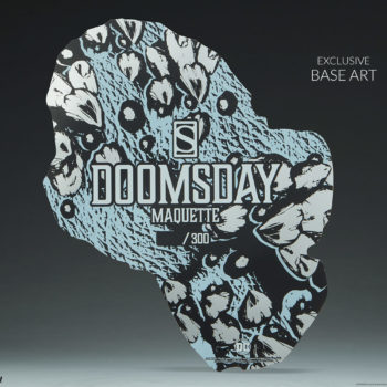 Doomsday Maquette Exclusive Edition Base Design