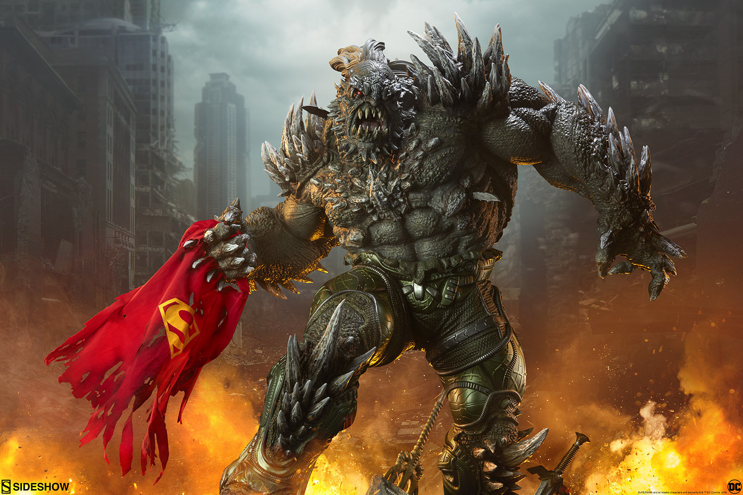 A Kryptonian Killer Emerges In The Doomsday Maquette Official