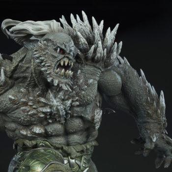 Doomsday Maquette Upper Torso Close-Up