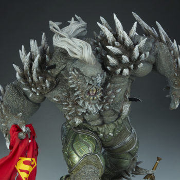 Doomsday Maquette Upper Body Aerial View- Front