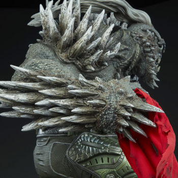 Doomsday Maquette Side View Close-Up