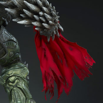 Doomsday Maquette Cape Hand Close-Up