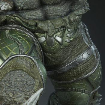 Doomsday Maquette Leg Armor Detail