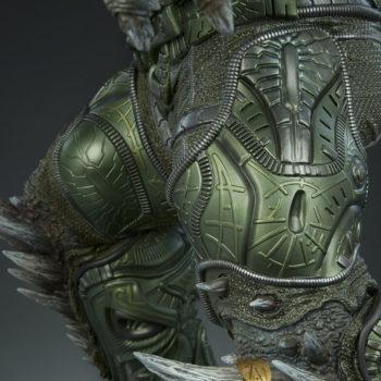 Doomsday Maquette Leg Armor Detail 2