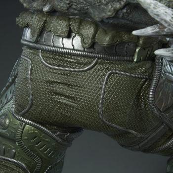 Doomsday Maquette Leg Armor Detail 3