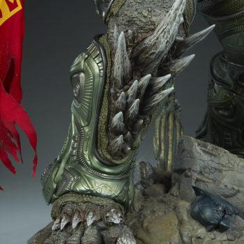 Doomsday Maquette Leg Armor Detail 4