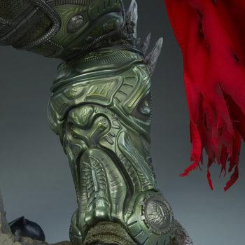 Doomsday Maquette Leg Armor Detail 5