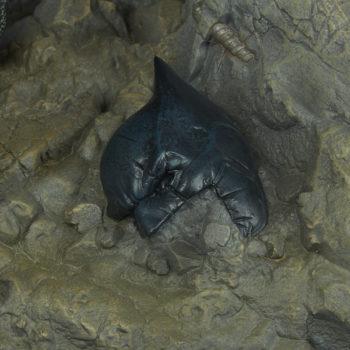 Doomsday Maquette Batman Cowl Detail
