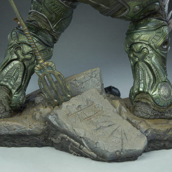 Doomsday Maquette Justice League Base Detail 2