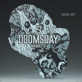 Doomsday Maquette Base Art Detail