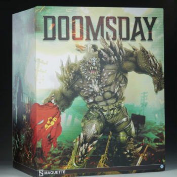 Doomsday Maquette Statue Art Box