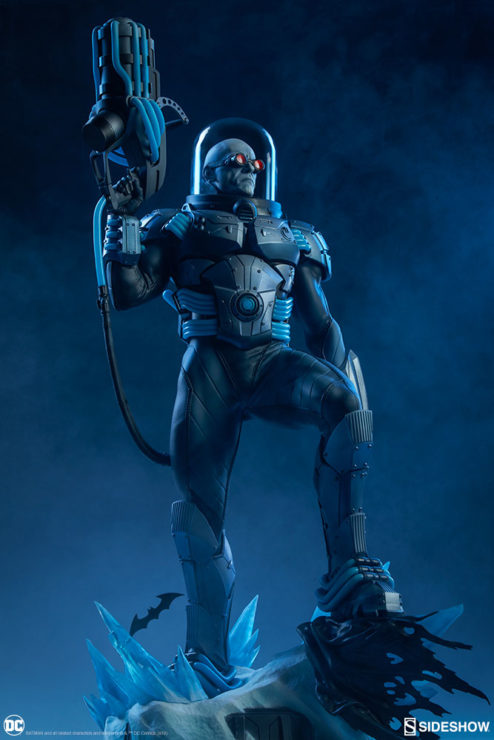 Mr. Freeze Premium Format™ Figure Dramatic Lit Shot