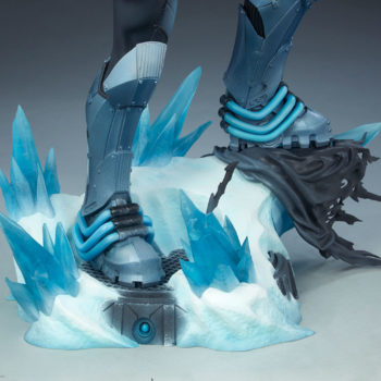 Mr. Freeze Premium Format™ Figure Base Close Up 2