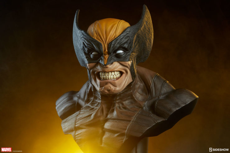 Slash Open the New Wolverine Life-Size Bust Photo Gallery!