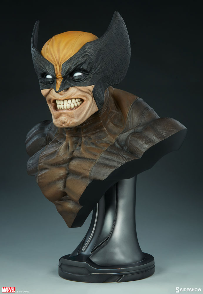 Ever Wonder Where That Iconic Bust Of >> Slash Open The New Wolverine Life Size Bust Photo Gallery