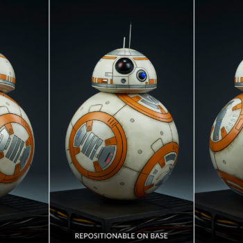 BB-8 Life-Size Figure in Multiple Positions on Base