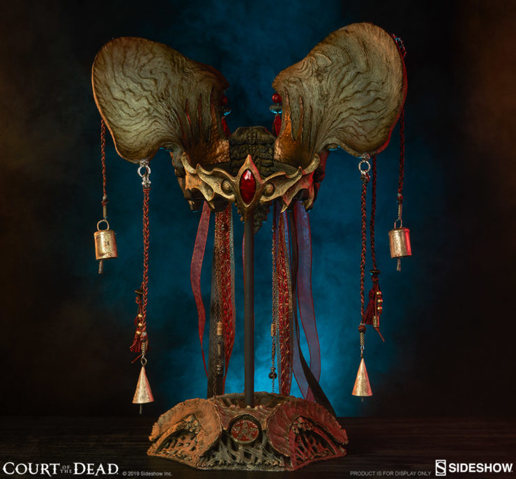 Adorn Your Court of the Dead Collection with Queen Gethsemoni's Crown Life-Size Replica