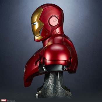 Iron Man Mark III Life-Size Bust Side View Facing Left