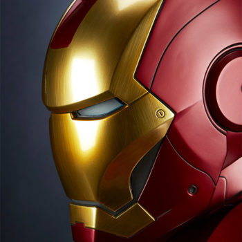 Iron Man Mark III Life-Size Bust Extreme Portrait Close Up