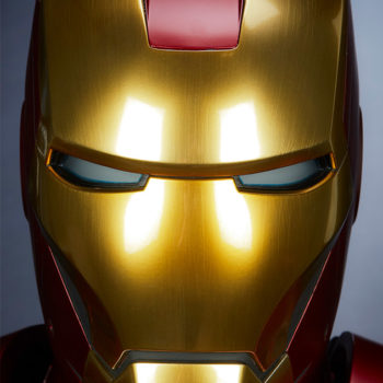 Iron Man Mark III Life-Size Bust Portrait Front View
