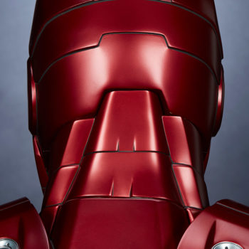 Iron Man Mark III Life-Size Bust Back of the Head Detail
