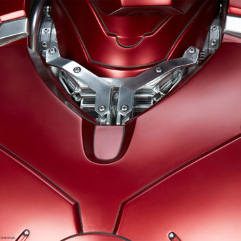 Iron Man Mark III Life-Size Bust Additional Armor Detail