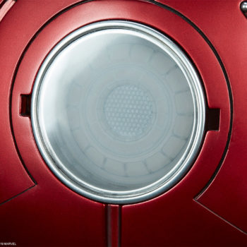Iron Man Mark III Life-Size Bust Arc Reactor Close Up