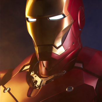Iron Man Mark III Life-Size Bust Portrait Close Up