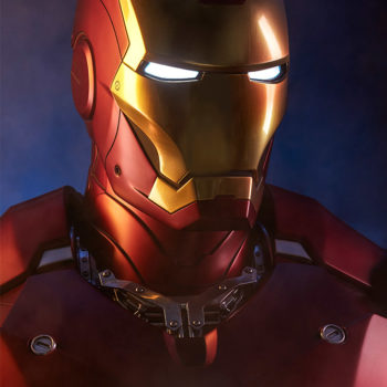 Iron Man Mark III Life-Size Bust Portrait Close Up 2