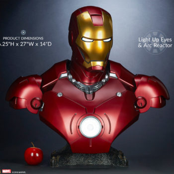 Iron Man Mark III Life-Size Bust Measurements and Scale Ratio