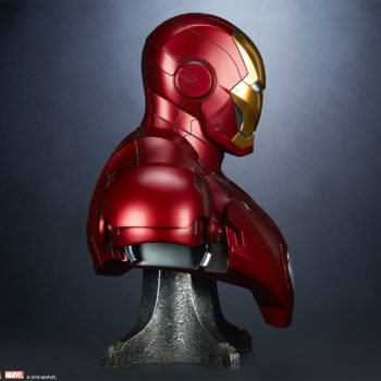 Iron Man Mark III Life-Size Bust Side View