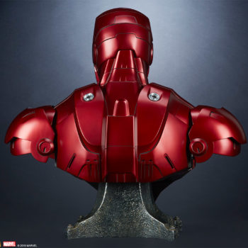 Iron Man Mark III Life-Size Bust Back View