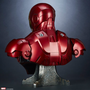 Iron Man Mark III Life-Size Bust 3/4 Turn Back View 2